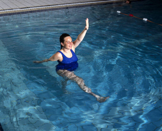 Gravid træning i vand